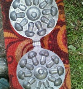 Форма для выпечки грибочки