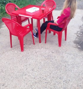 Аренда прокат пластиковых столов стульев кресел