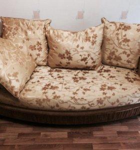 Диван кровать с креслом (комплект)