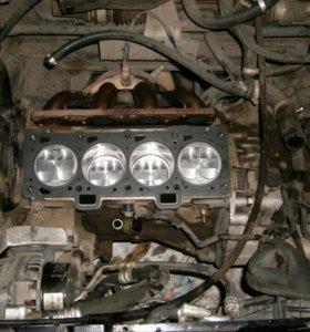 Двигатель ваз 2112 16v после кап ремонта.