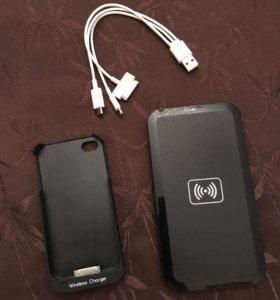 Беспроводная зарядка iPhone 4/4s