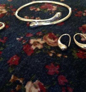 браслет кольцо серьги