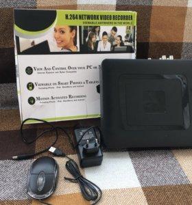 4х канальный видеорегистратор 1080n 2mPx p2p AHD
