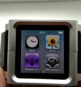 Apple iPod nano 6 8gb + ремешок + наушники, бу