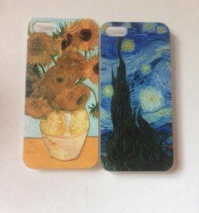 Чехол айфон 5 Ван Гог