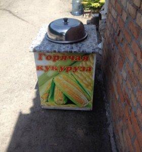 Пароварка тележка вареная кукуруза