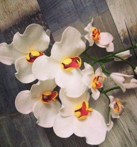 Шпильки орхидеи,ручной работы