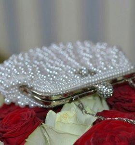 Сумочка свадебная