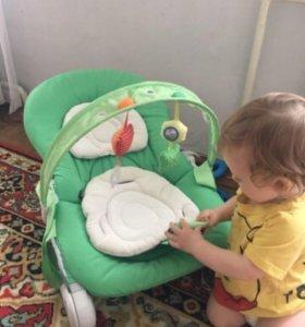 Chicco шезлонг качели кресло качалка детское