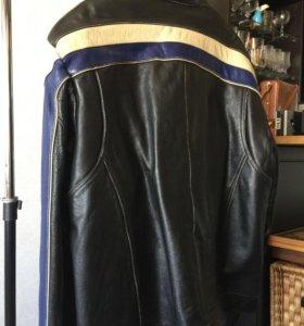 Кожаная мото куртка Wilsons leather M. Julian