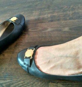 Tommy hilfiger балетки туфли