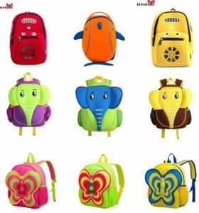 Детские рюкзачки и сумочки NoHoo
