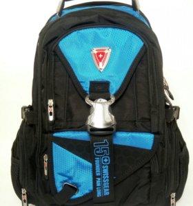 Фирменный рюкзак SwissGear 1629 синий