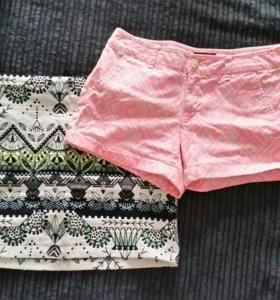 Комплект юбка и шорты