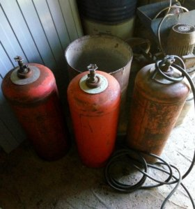 Газовый баллон 50 литровый пустой