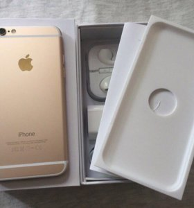 IPhone 6 gold 16