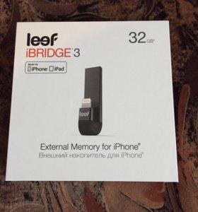 Флеш-накопитель Leef IBRIDGE 3 для iPhone,iPad