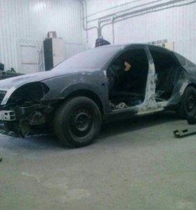 Кузовной ремонт, покраска