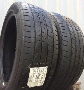 R17 225/45 Pirelli P.Zero Run Flat пара (2шт)
