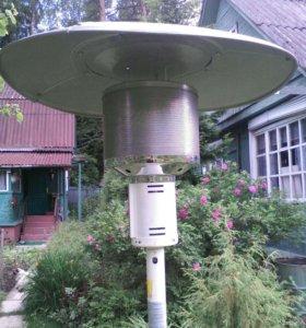 Газовый инфокрасный уличный обогреватель SRPHO3B н