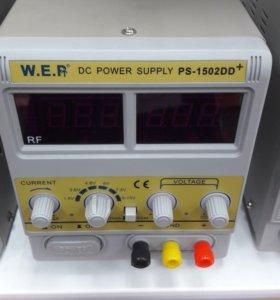 Лабораторный источник питания WEP 2502D+