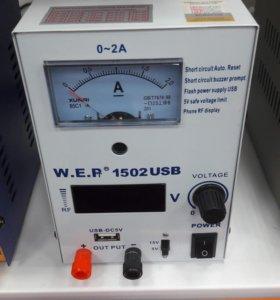 Лабораторный источник питания YA XUN 1502usb