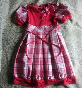 Красивое платье для девочки 3-5лет