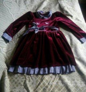 Праздничное платье для девочки 2-4 года