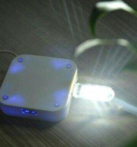 Светодиодный USB портативный ночник