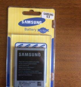 Аккумулятор на Samsung s3
