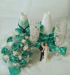 Набор свадебных украшений