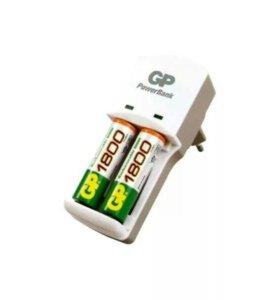 Зарядное устройство для 2ух батареек