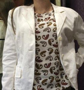 Джинсовый пиджак р.42-44