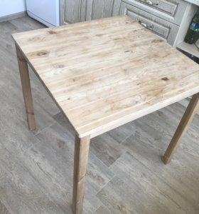 Кухонный стол дерево