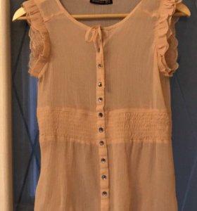 Блузка лёгкая ткань 42-44