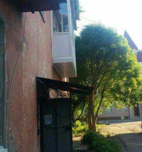 Остекление балконов лоджий веранд