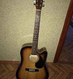 6 струнная акустическая гитара
