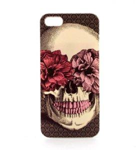 """Чехол """"Skull"""" на iPhone 5/5s/5c/SE"""