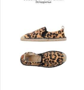 Обувь женская Эспадрильи