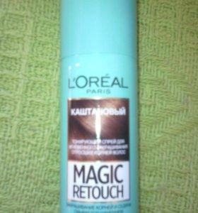 Спрей тонирующий L'oreal Magic retouch лореаль