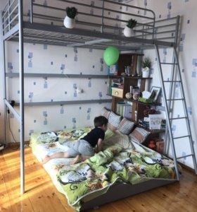 Кровать чердак икея Свэрта