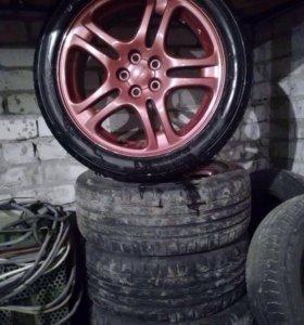 Комплект шины и диски