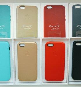 На iphone 5, 5s, 5se защитные чехлы кожа
