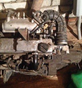 Двигатель ВАЗ 2111 с десятки.