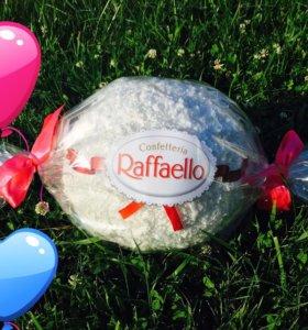 Рафаэлло как упаковка для подарка