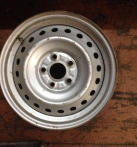 Диски штампованные Honda Civic r16