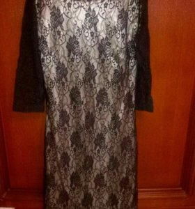 Платье коктейльное 44