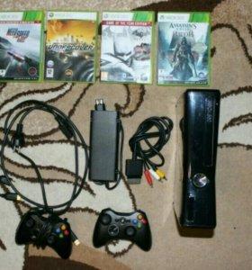 Xbox 360 Slim 250 Gb model 1439