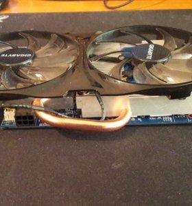 Видеокарта NVIDIA GF 650Тi / 1гб