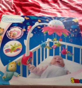 Мобиль на кроватку Smoby Cotoons